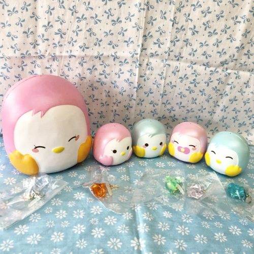 mini penguin puni maru squishy super cute squishies