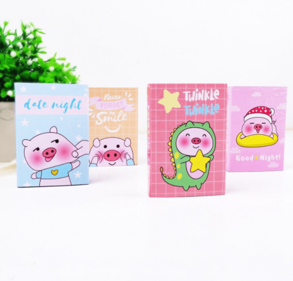 pink-piggy-note-pad-book