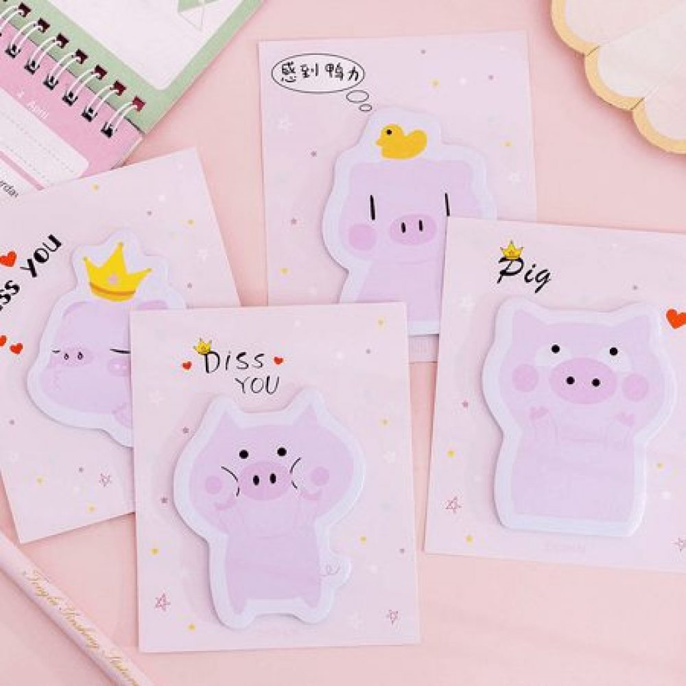 pig-pink-memo-pad-sticky-notes