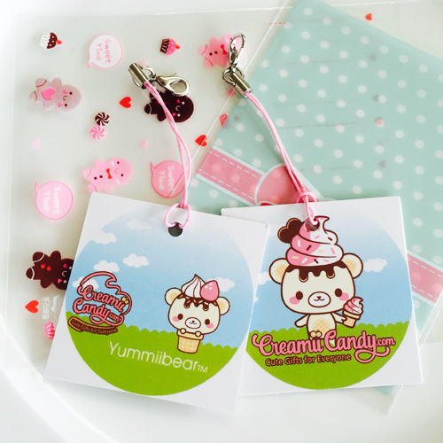 Squishy Tmi Tag : Free Creamiicandy Yummiibear Tag (squishy orders over   USD10)