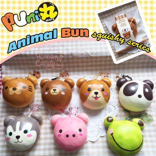 puni maru rare bear pig husky frog panda shibu animal buns squishy series