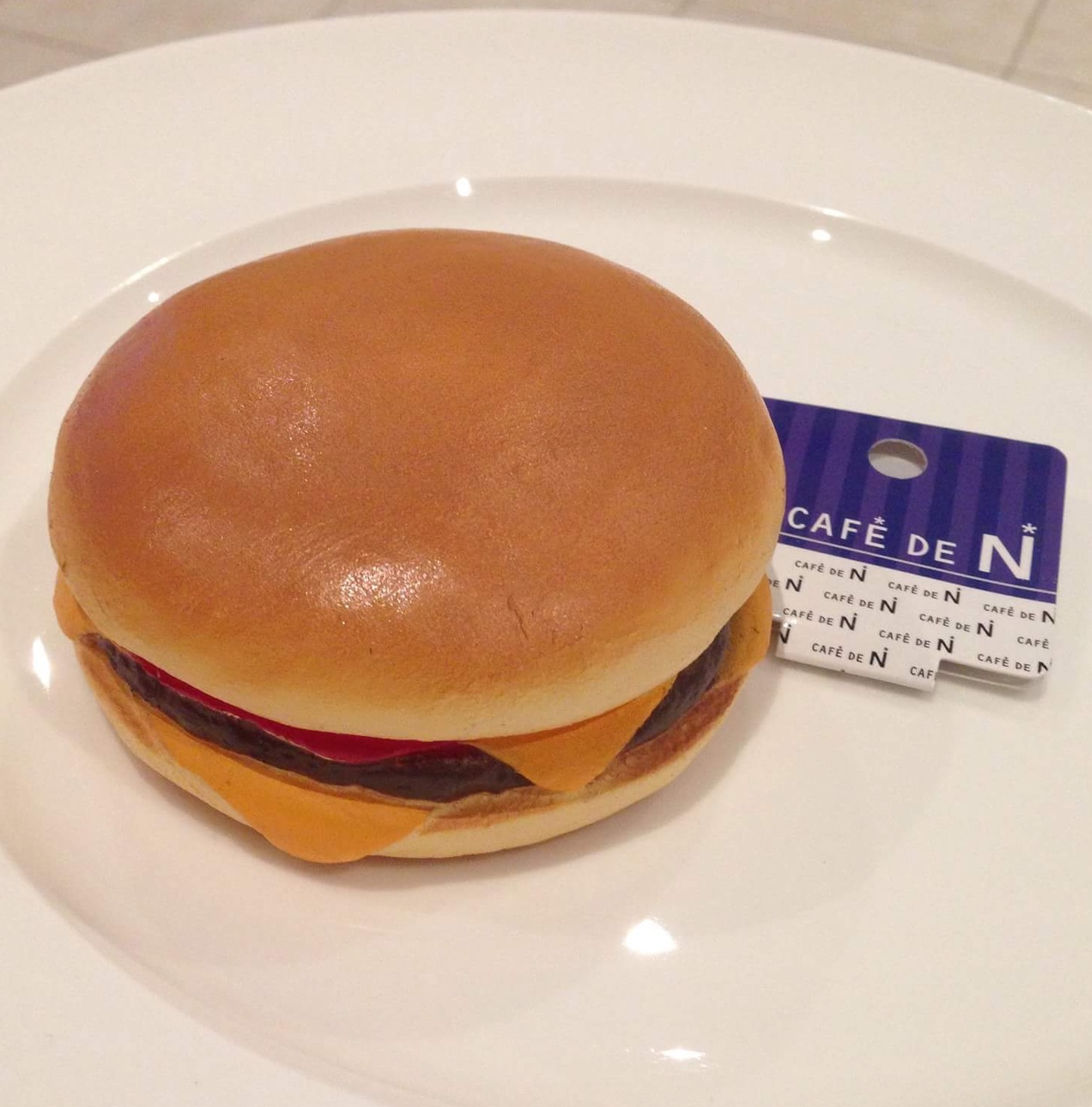 Squishy Cafe Dn : Super slow cafe de n cheeseburger squishy