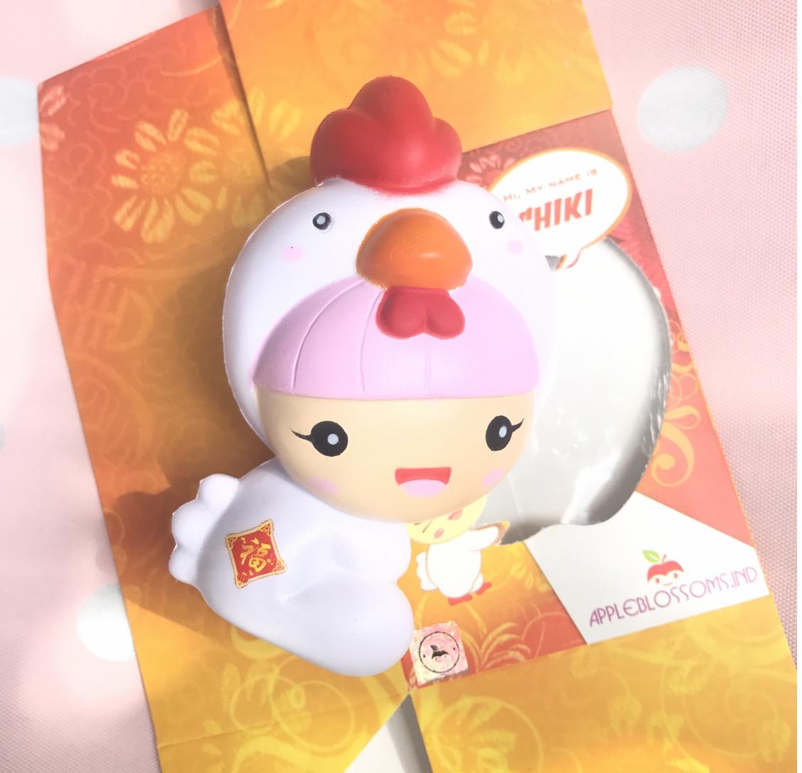 Squishy Muffinz Rose : Licensed cute Chika girl squishy rose scented