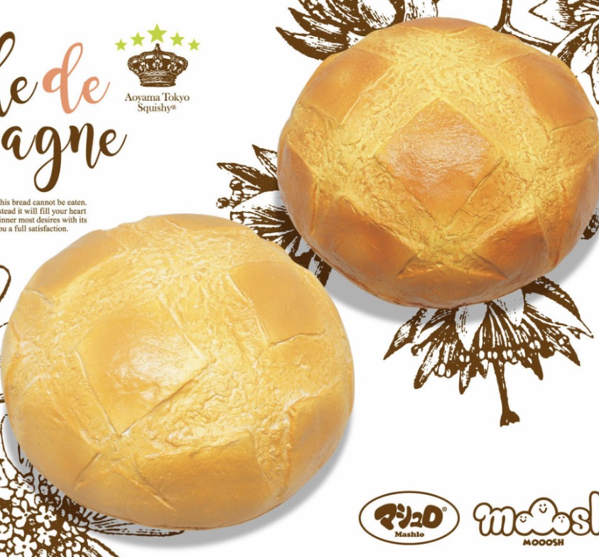 Super jumbo soft squishy Ibloom Boule French bread