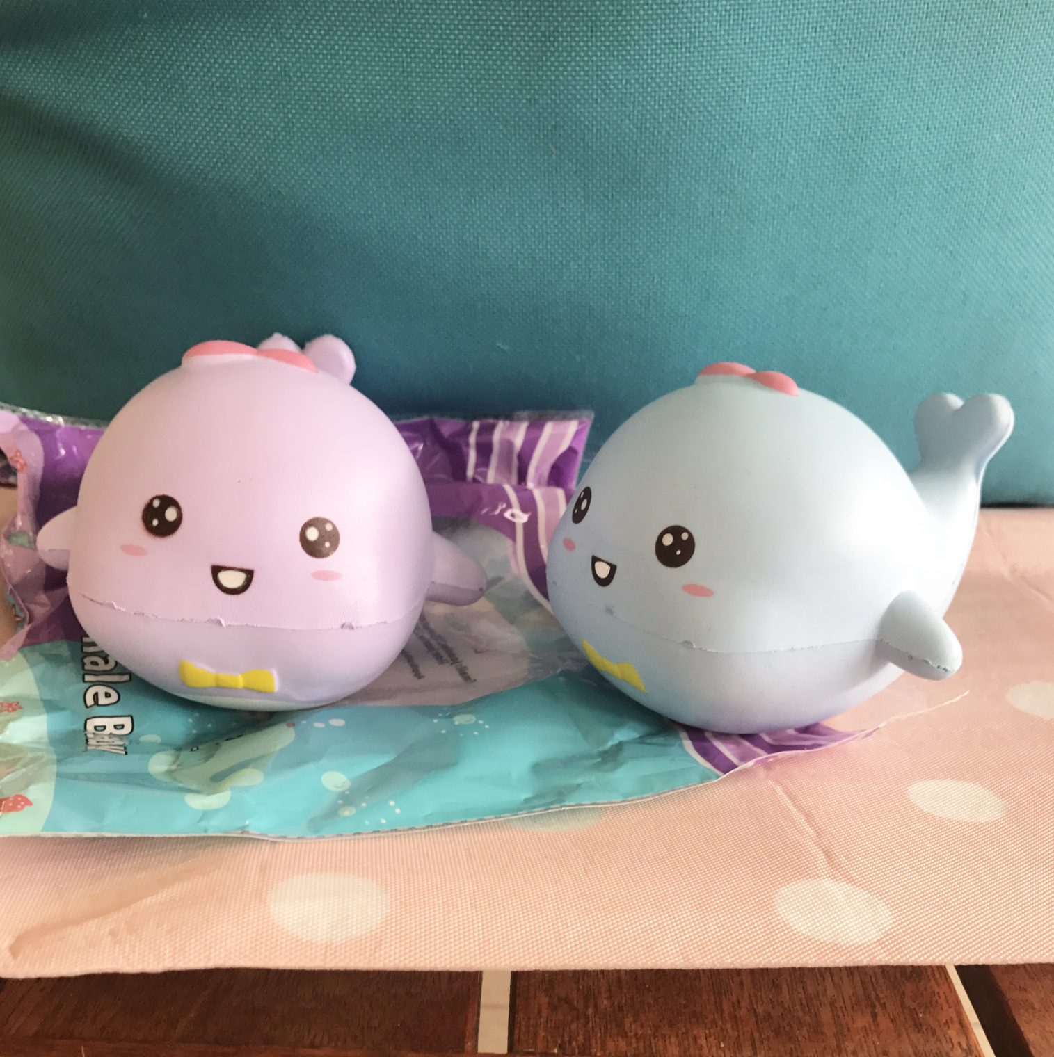 Homemade Squishy Collection It Z Just Cute : Squishy Whale - The Squishy Databases