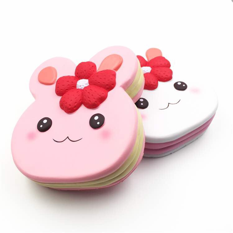 Squishy Bunni Logo : Squishy Jumbo bunny pancake sweet scented