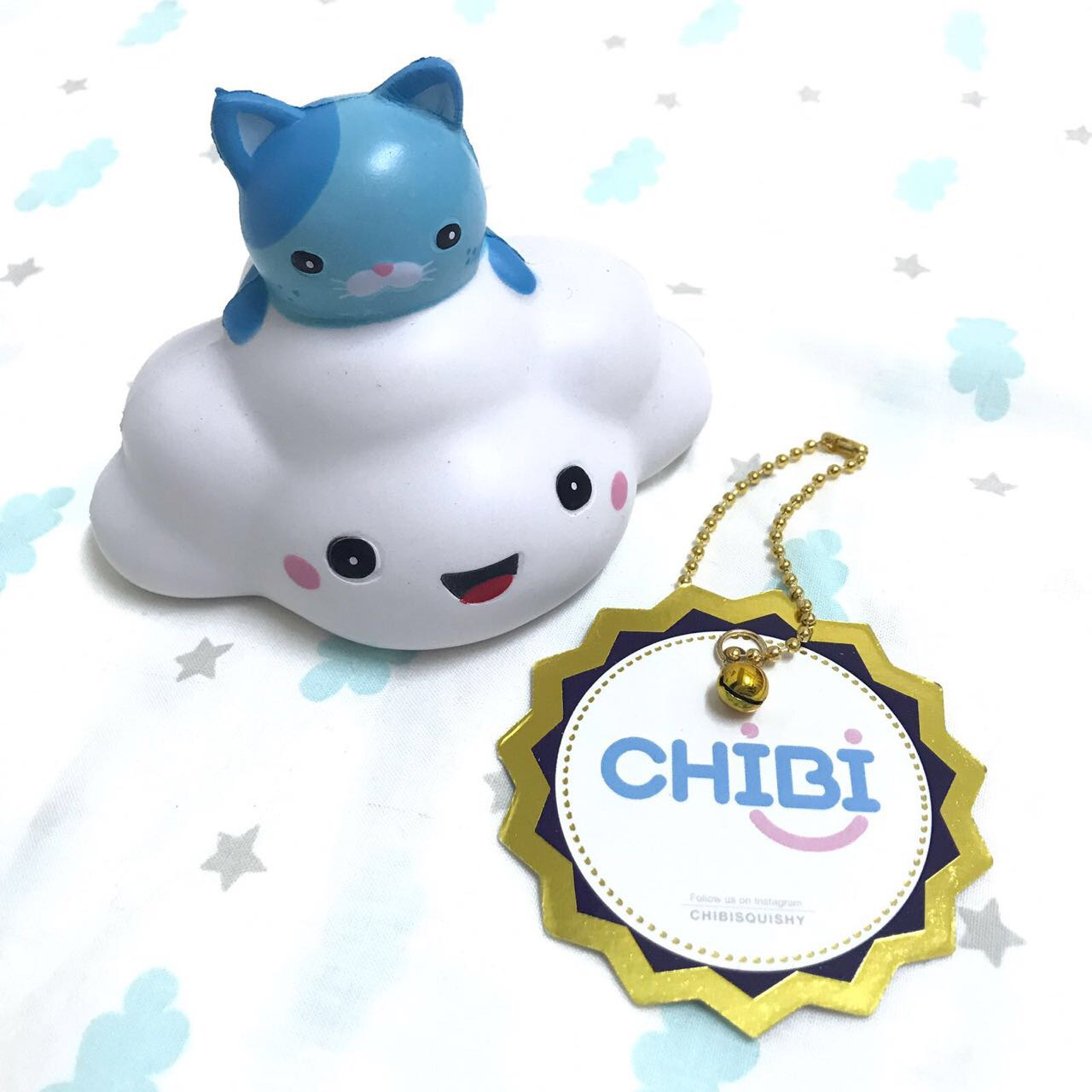 Bff Squishy Tag : Ppancollection kitty on cloud squishy ~ scented