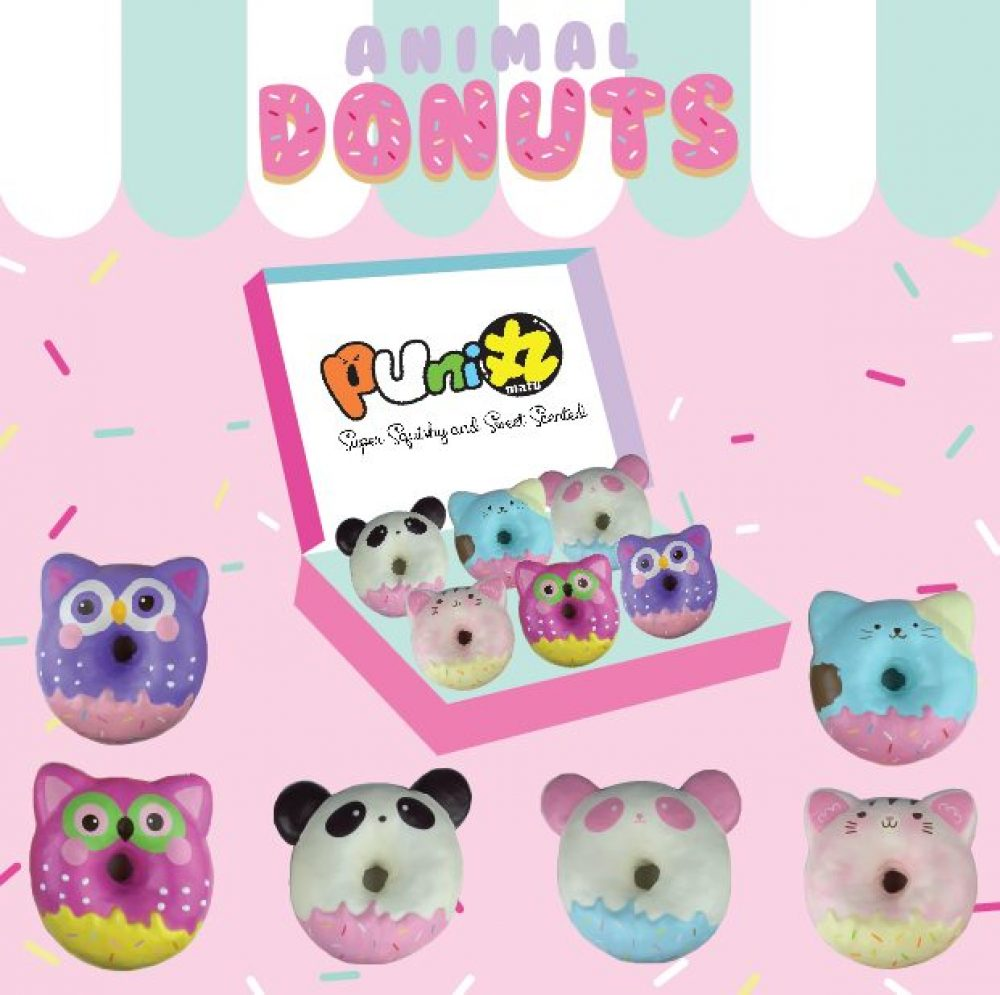 Animal donut squishy