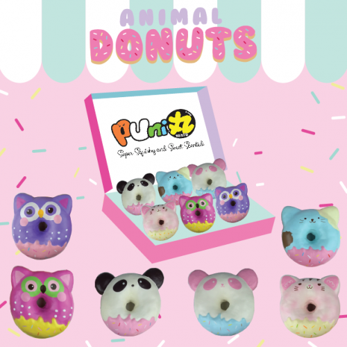 Animal donut squishy