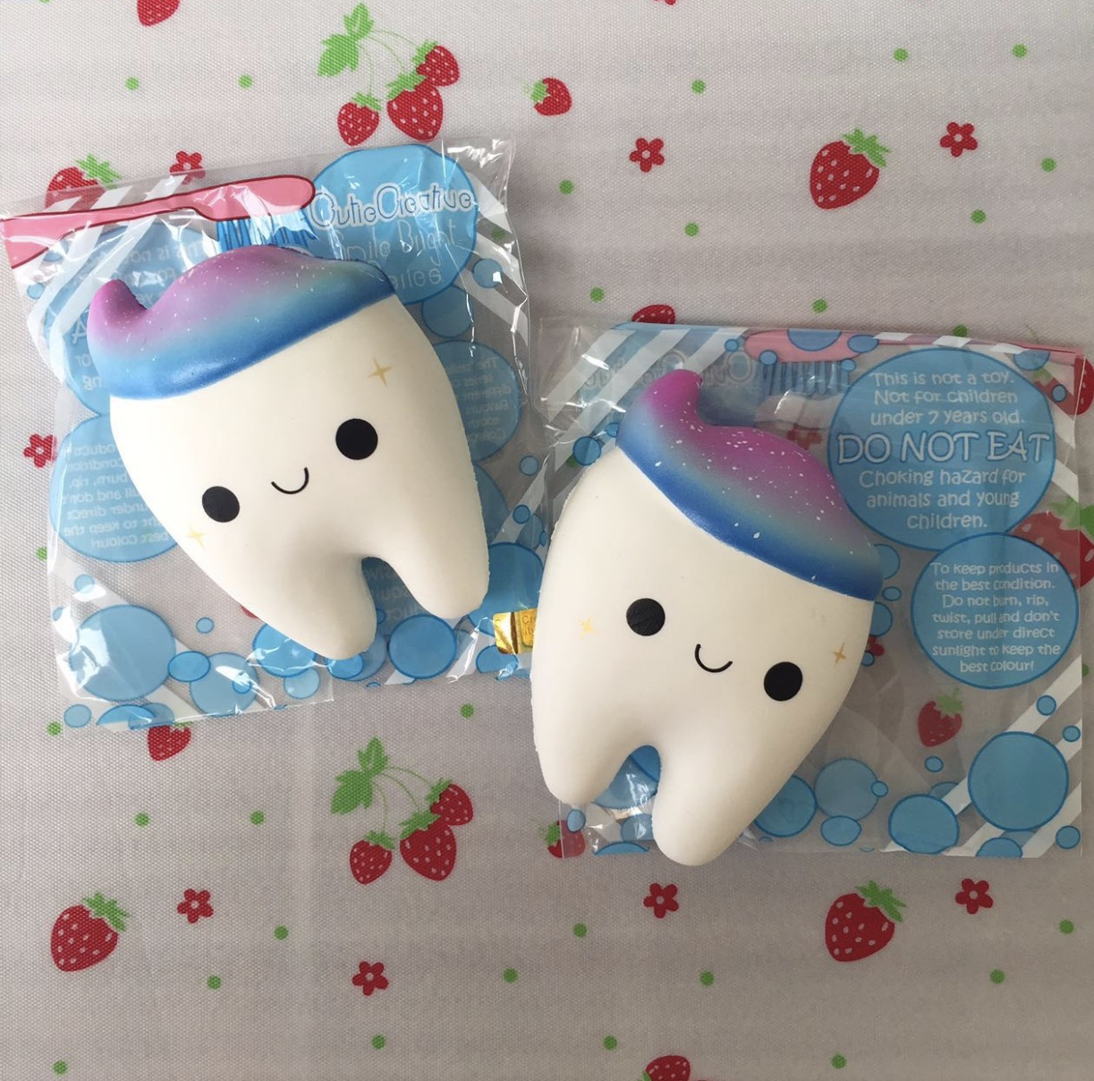 Squishy Galaxy Tooth : Cutiecreative galaxy tooth squishy rare licensed scented