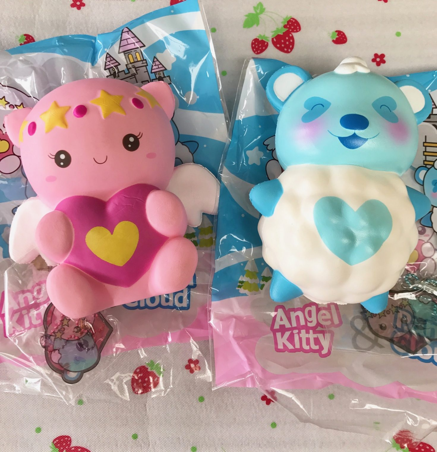 FLASH SALE Panda Cloud and Angel Kitty ~ Creamiicandy Puni Maru licensed Kawaii fairytale ...