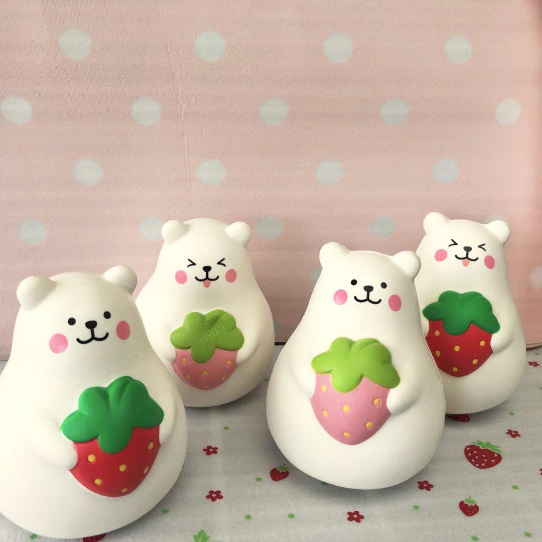 Squishy Jumbo Marshmallow : Ibloom licensed Super Jumbo soft marshmallow bear squishy
