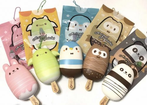 puni maru animal icecream squishy