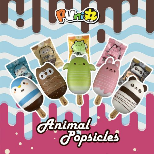 puni maru animal popsicle squishies