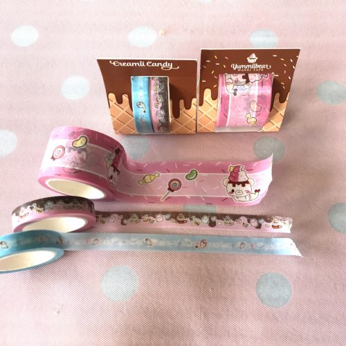 washi yummiibear tape sticker