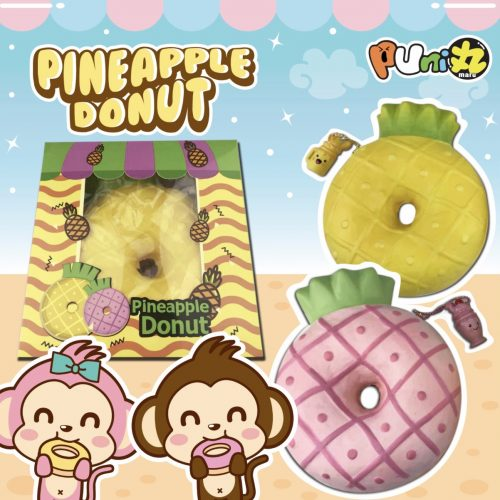 super pineapple donut squishy puni maru squishies