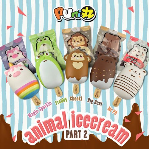 animal popsicle icecream squishy
