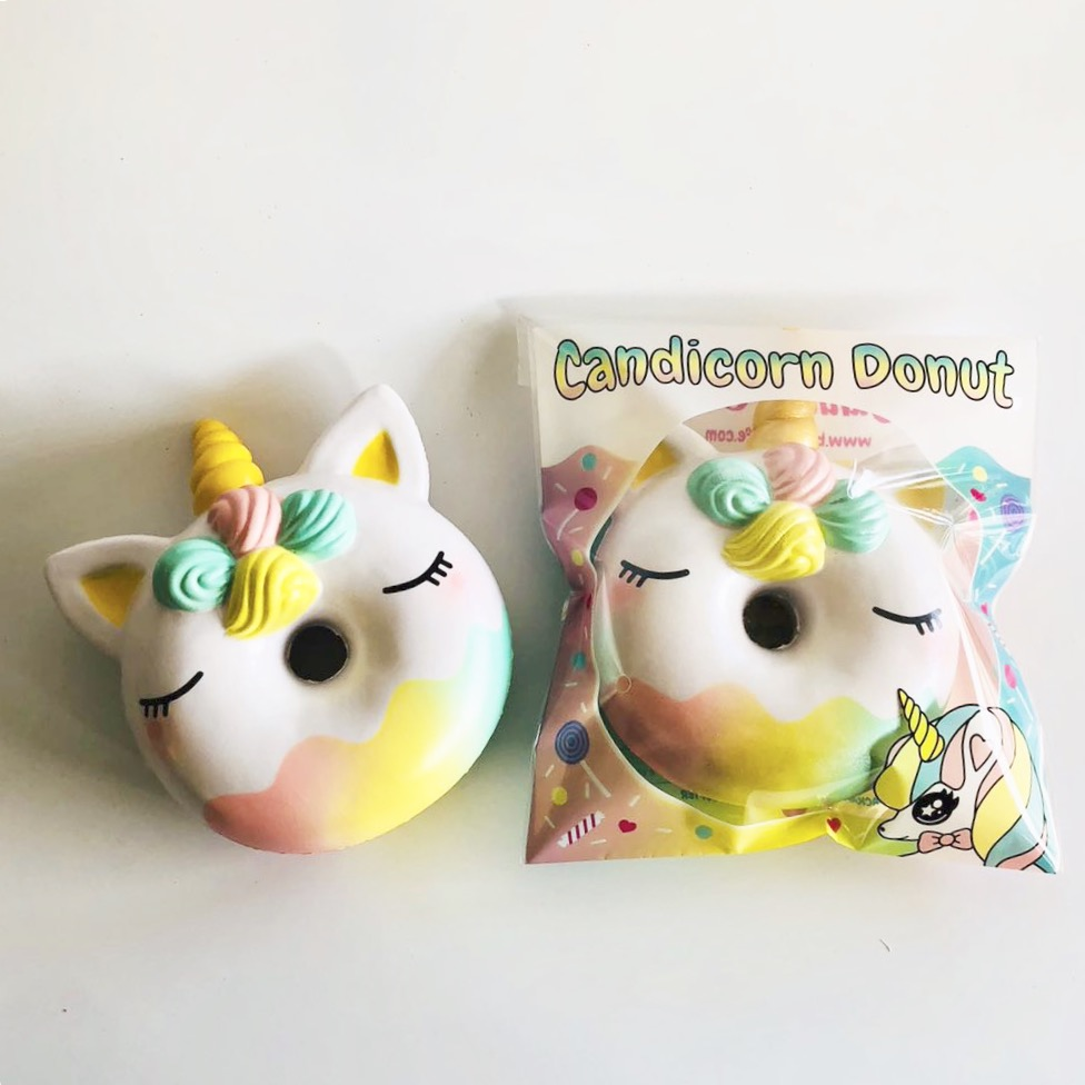 Candicorn unicorn Jumbo donut squishy