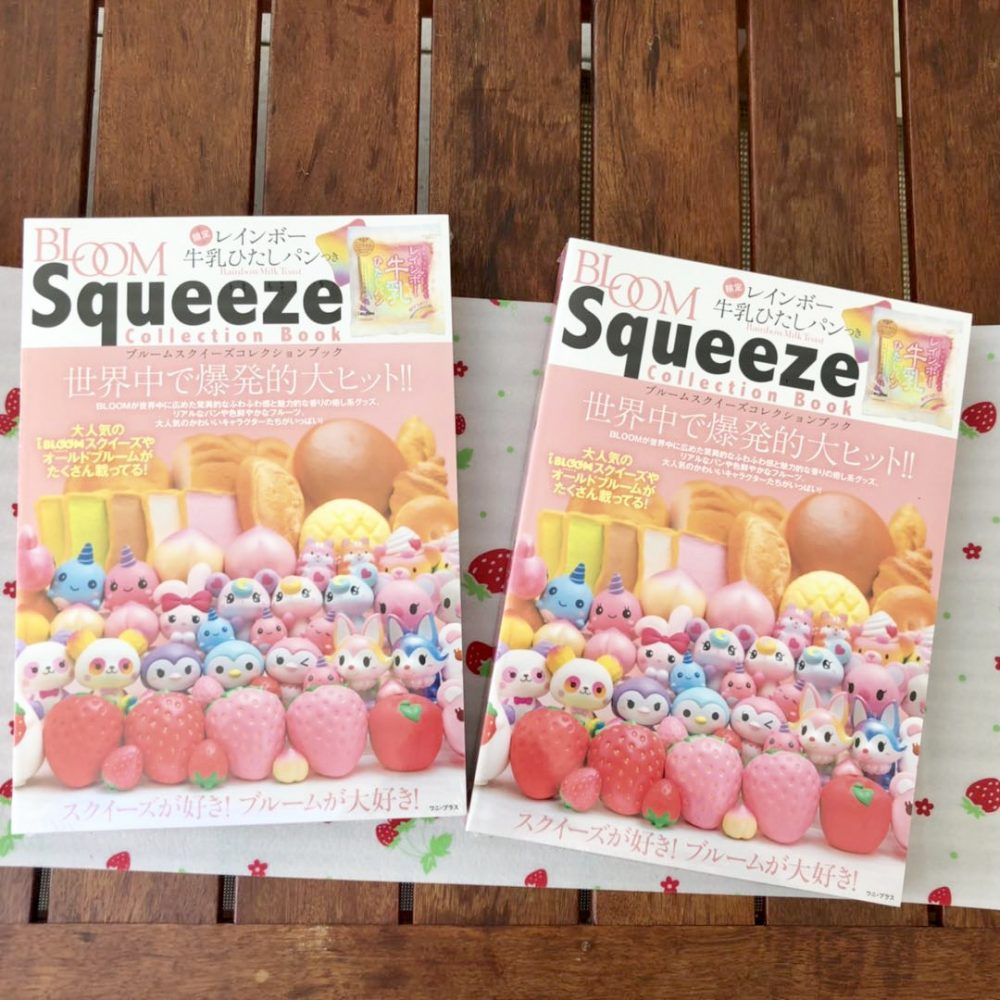 Ibloom squeeze squishy collection book