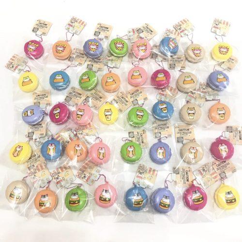 Poli fast food collection macaron mini squishies