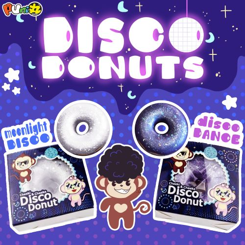 disco-donuts squishies