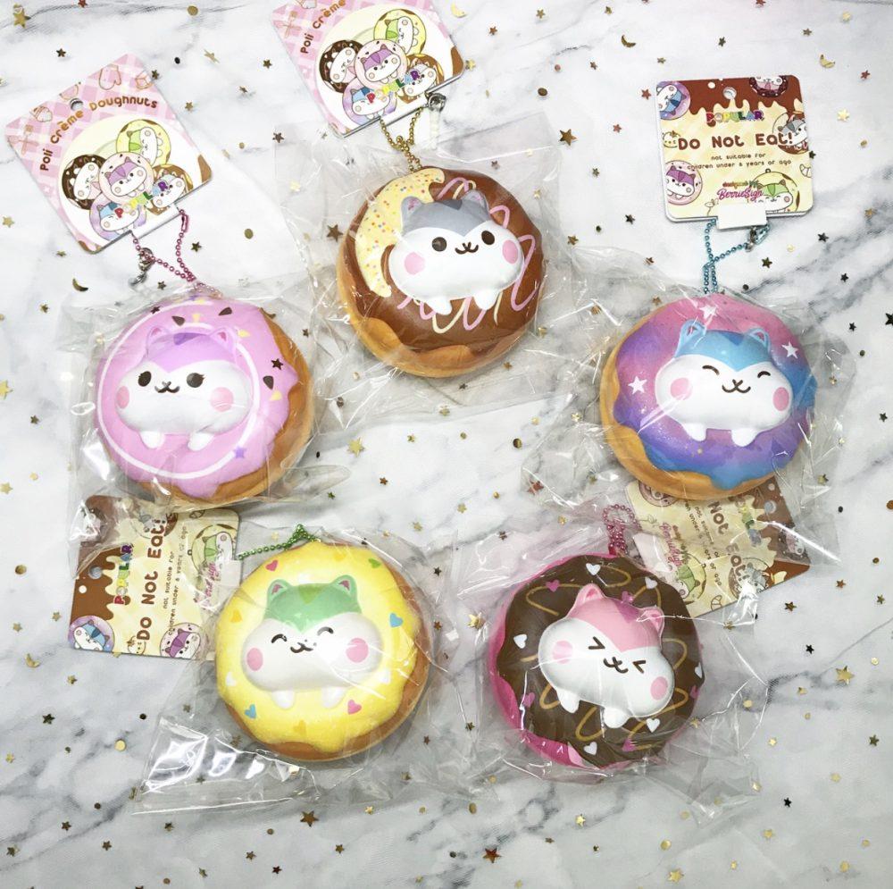 poli hamster donut squishy