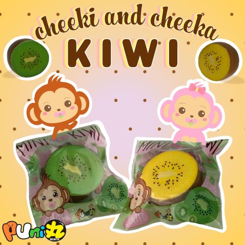 Mini kiwi puni maru squishy