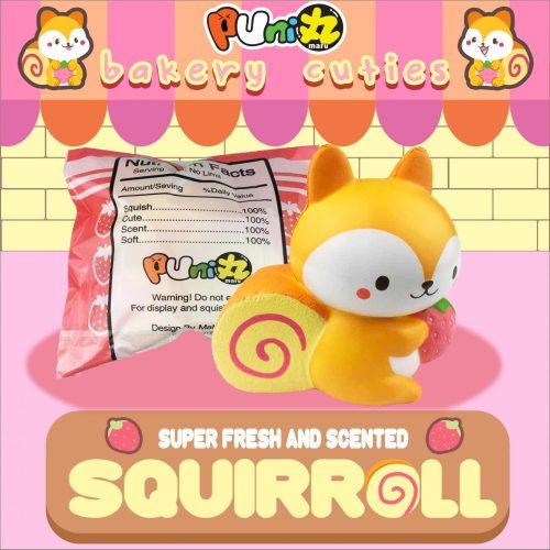 squirrell cute squishy