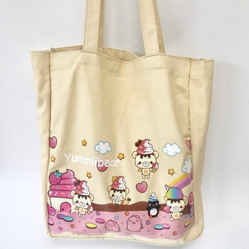 6ecb8398f0 Official licensed Yummiibear Creamiicandy Tote bag