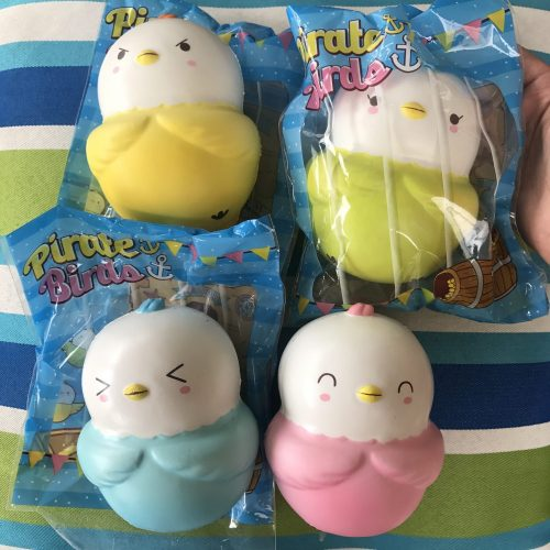 pirate birds squishy puni maru