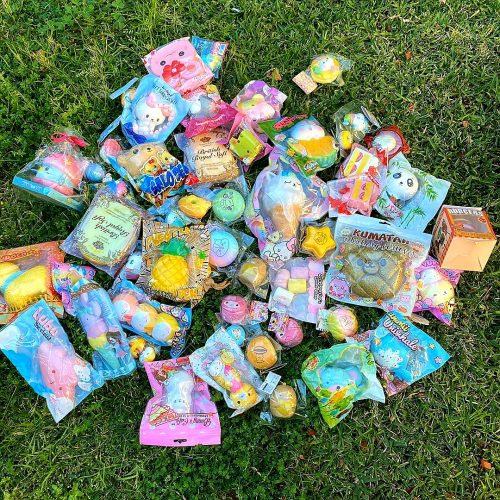 Rare squishy licensed Squishies grab bag set package