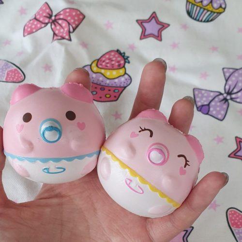 Cute pig charms squishy baby marshmellii