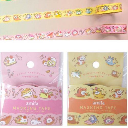 amifa kawaii seals washi tape rare washi tape