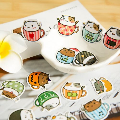 cat-cup-kawaii-stickers