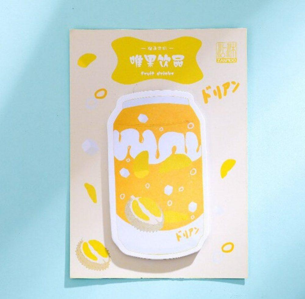 durian-memo-pad-kawaii-soda-pad