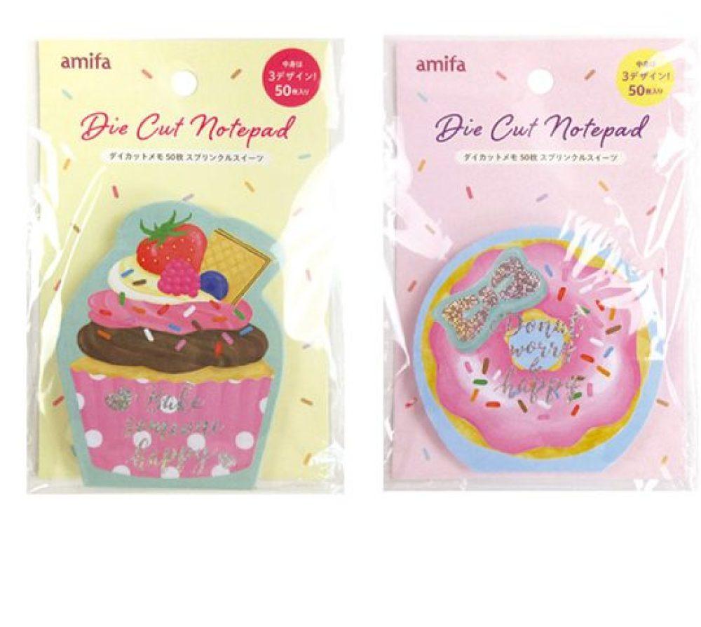 donut and cupcake note pad kawaii cute notepads
