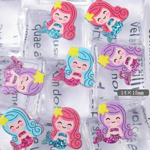 kawaii-tiny-mermaid-cabochon-pieces-deco-charms