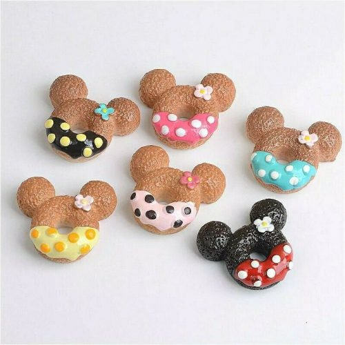 mickey mouse kawaii cabochons resin charm