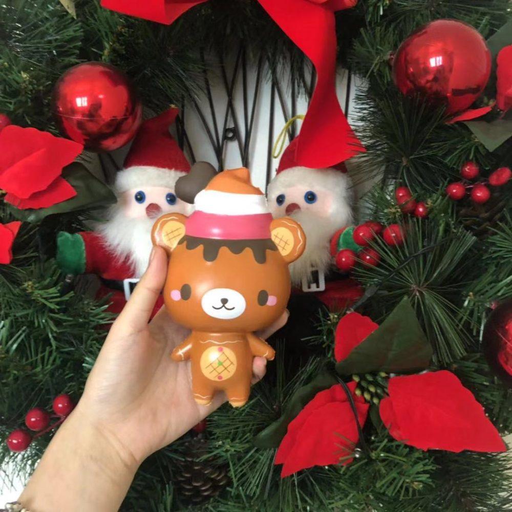 gingerbread yummiibear squishy bear