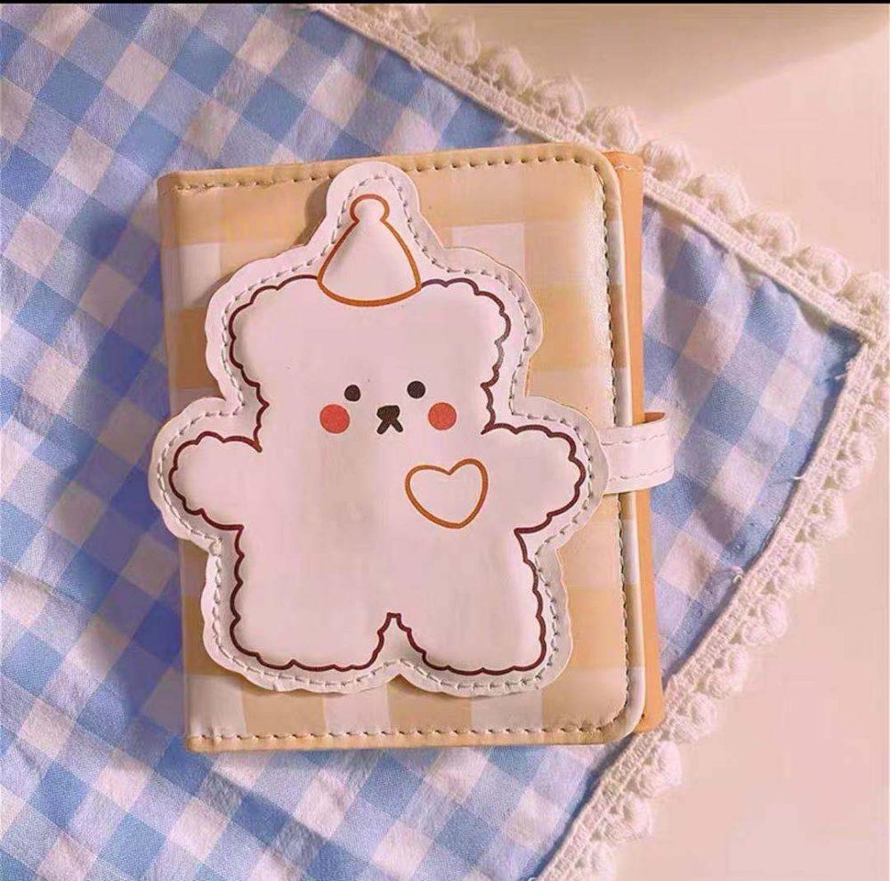 kawaii teddy bear wallet holder australia shop