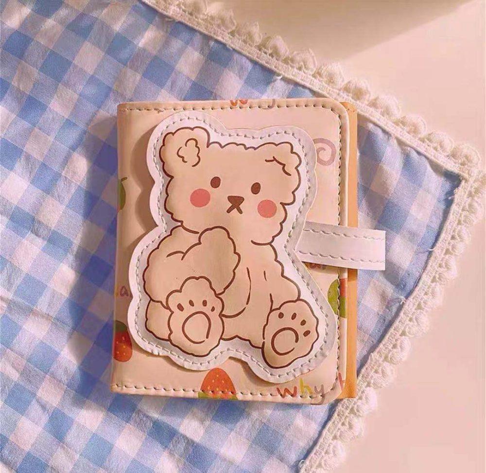 kawaii bear wallet holder australia shop