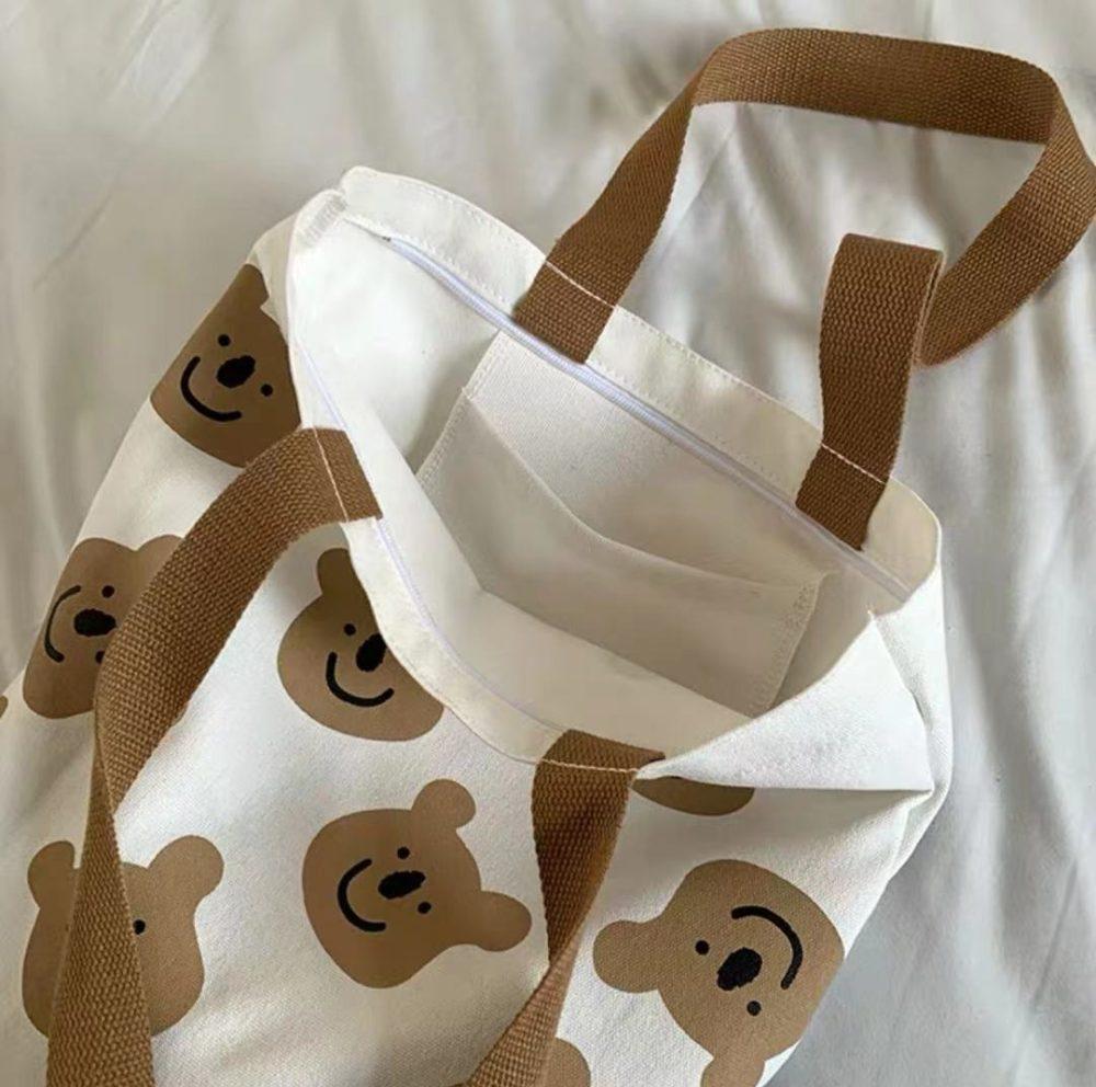 Bear Tote bag cute