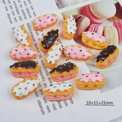 chocolate eclaire cabochons