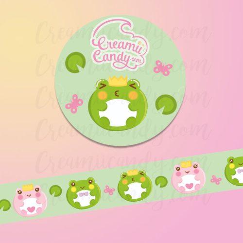 cute-frog-washi-tape-kawaii-frog-washi-tape-creamiicandy-frog
