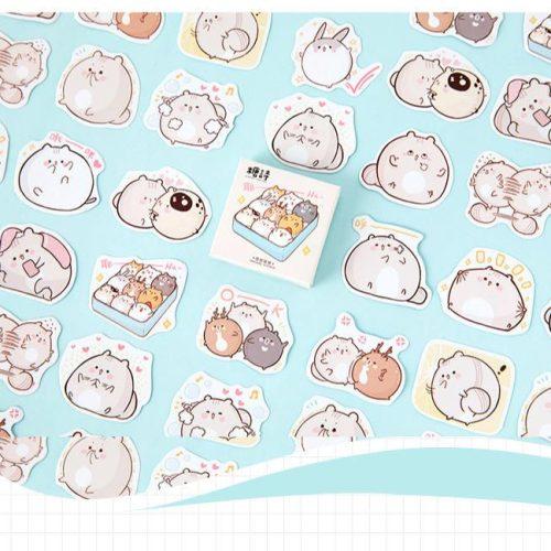 cute-kawaii-fat-bunny-hamster-stickers