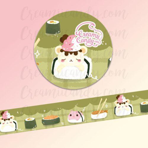 cute-sushi-yummiibear-bear-pig-washi-tape-australia-online-store