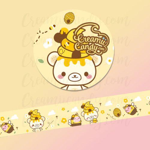 honey-bee-cute-washi-tape-australia-shop-yummiibear