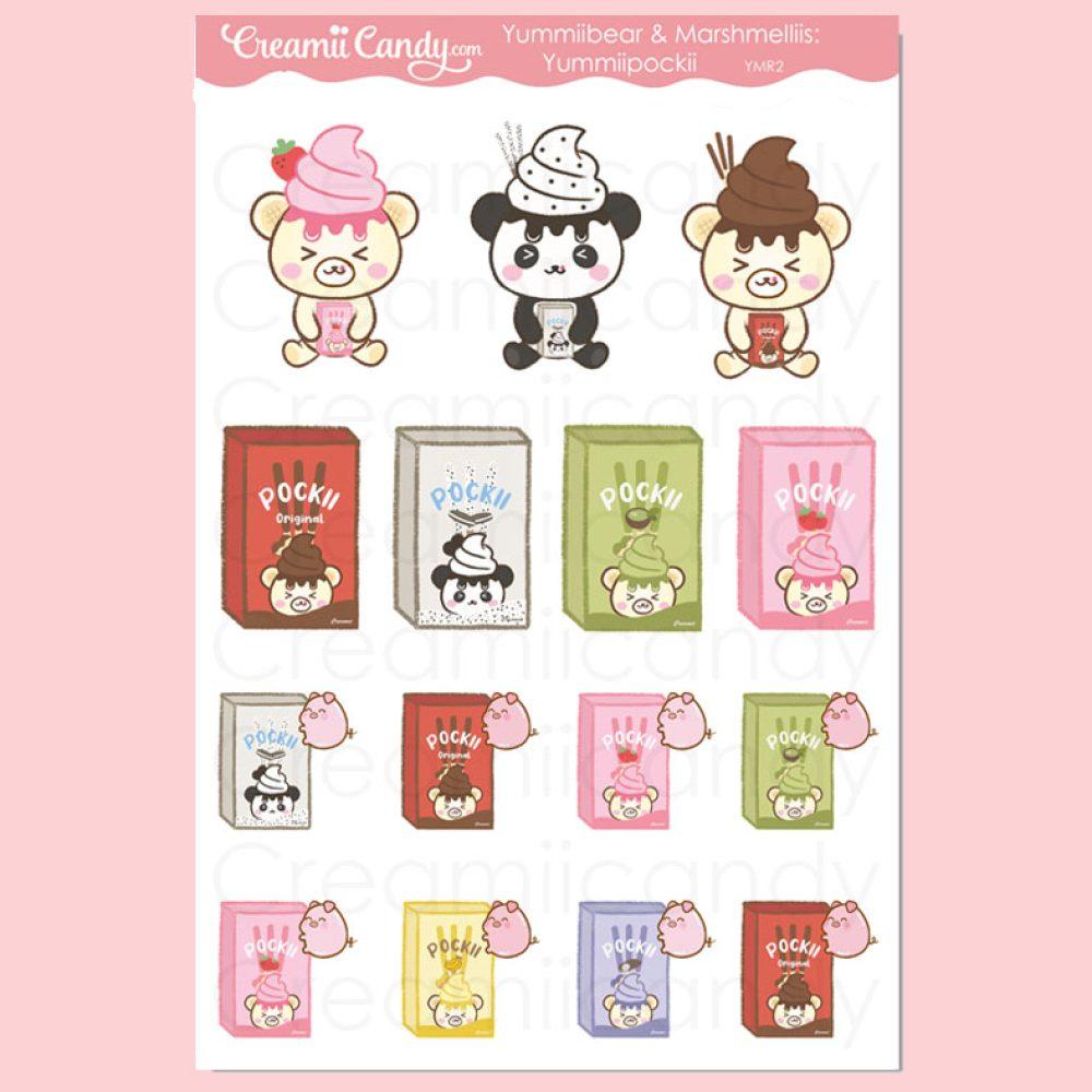cute-pocky-asian-japanese-snacks-stickers-sheet-planner-yummiibear-marshmellii-pocky-ymr2